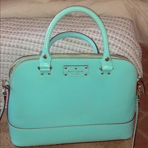 Kate spade purse mint color